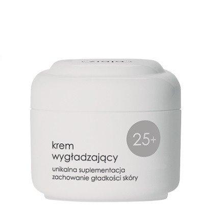 Ziaja - 25 Plus – KREM wygładzający, kompleksowa suplementacja skóry dająca maksymalne wygładzenie, 50 ml.