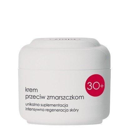 Ziaja - 30 Plus – KREM przeciwzmarszczkowy na NOC/DZIEŃ, 50 ml.