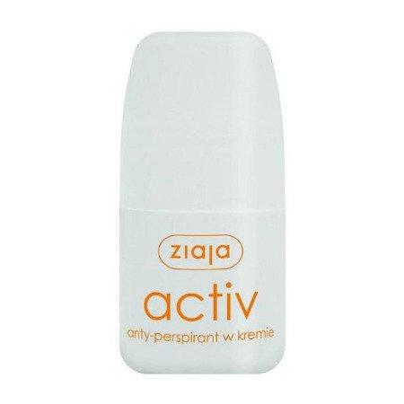 Ziaja ACTIV - antyperspirant w kremie, 60 ml.