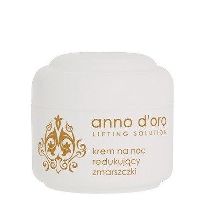 Ziaja - Anno d'oro - KREM redukujący zmarszczki na NOC, 50 ml.