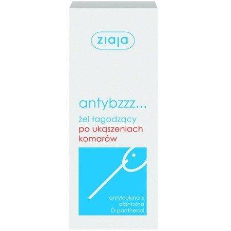 Ziaja AntyBzzz - ŻEL łagodzący ukąszenia komarów, 30 ml.