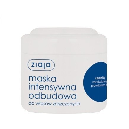 Ziaja - Intensywna pielęgnacja włosów - MASKA intensywnie odbudowująca z ceramidami, 200 ml.