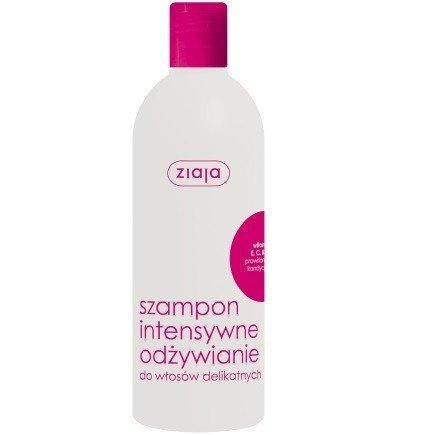 Ziaja - Intensywna pielęgnacja włosów - SZAMPON intensywne odżywienie do włosów delikatnych, 400 ml.