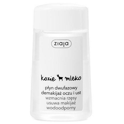 Ziaja - Kozie Mleko Płyn dwufazowy do demakijażu oczu i ust, 120 ml.