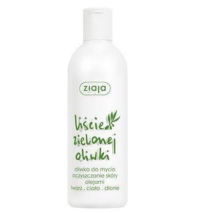 Ziaja - Liście Zielonej Oliwki - OLIWKA do mycia i oczyszczania ciała, twarzy i dłoni, 270 ml.