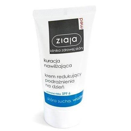 Ziaja MED - Kuracja nawilżająca - KREM redukujący zmarszczki na NOC, 50 ml.
