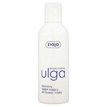 Ziaja - Ulga - Kremowy OLEJEK myjący, 200 ml.