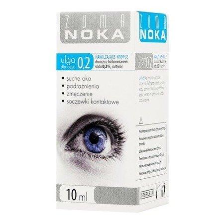 Zuma NOKA 0,2% - KROPLE nawilżające, 10 ml.