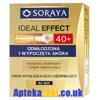 Soraya - Ideal Effect 40+ - Krem wygładzająco-ujędrniający na noc, 50 ml.